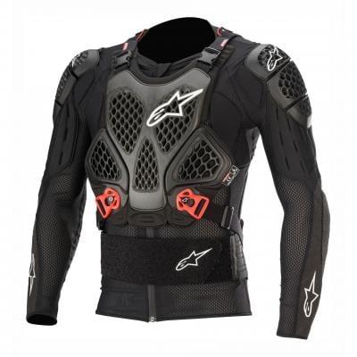 Gilet de protection Alpinestars Bionic Tech V2 noir/rouge