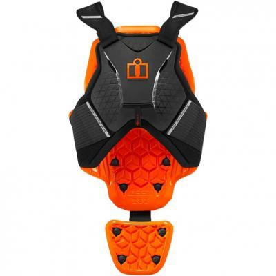 Gilet de protection Icon D3O noir/orange