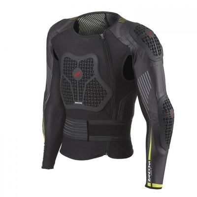 Gilet de protection Zandona Netcube Jacket X6 noir/jaune (Taille 160/169)