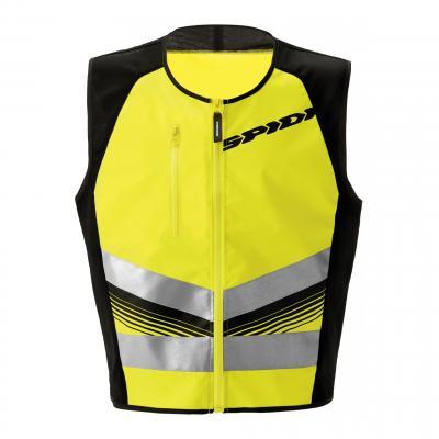 Gilet de visibilité Spidi HV Vest Light jaune fluo/noir