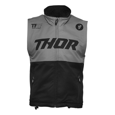 Gilet enduro Thor Warm Up vest noir/charcoal