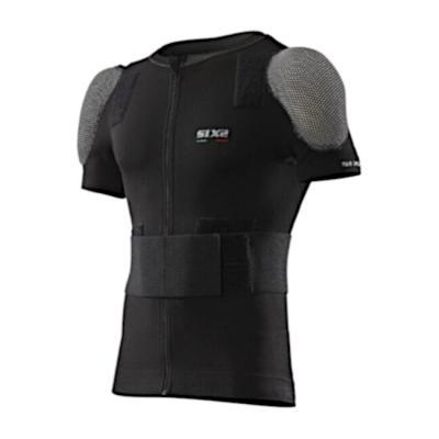 Gilet manches courtes Sixs ProTS8 avec protections dorsale et épaules