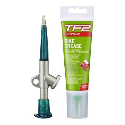 Graisse au Téflon Weldtite TF2 Grease avec pistolet (125ml)
