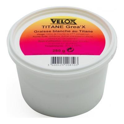 Graisse blanche au Titane Velox Grea'x pour pièces alu (250g)