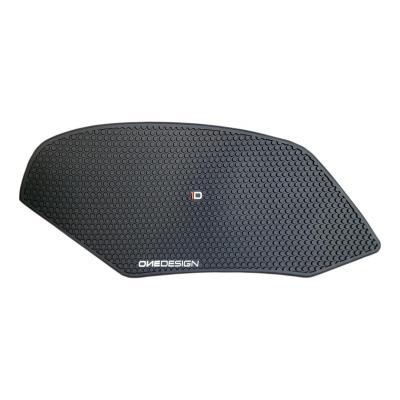 Grip de réservoir Onedesign noir HDR201 Aprilia RSV4 1000 RR 15-19