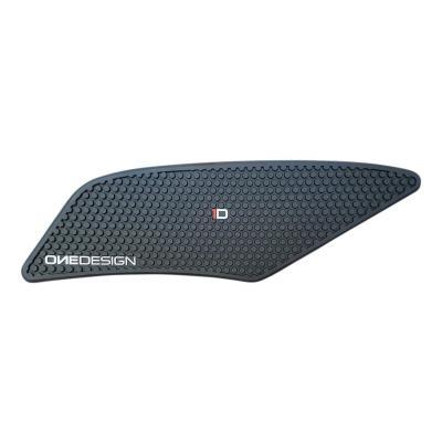 Grip de réservoir Onedesign noir HDR229 Yamaha YZF-R6 17-19