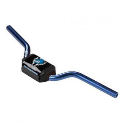 Guidon aluminium sans barre YCF pour 50cc bleu