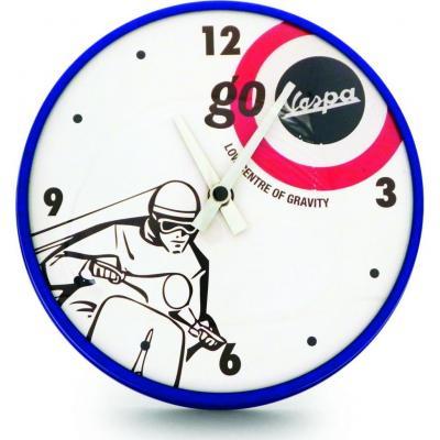 Horloge murale Vespa D.50 blanc
