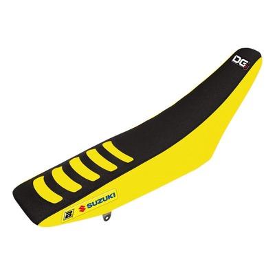 Housse de selle Blackbird Racing Double Grip 3 Suzuki 450 RM-Z 18-21 jaune/noir