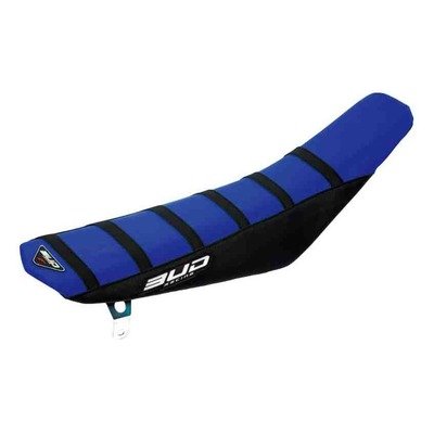 Housse de selle bleu/noire/bandes noire Bud Racing Full Traction pour KTM SX 65 09-15