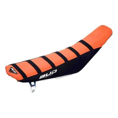 Housse de selle orange/noire Bud Racing Full Traction pour KTM SX 125 11-15