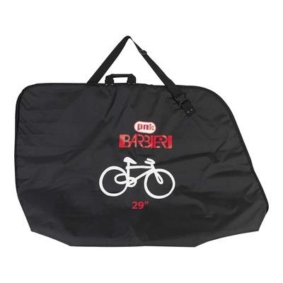Housse de transport vélo Barbieri avec compartiment pour roue avant