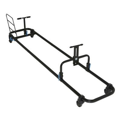 Housse de transport vélo Lotus é chassis rigide avec roulettes plus compartiment pour roues