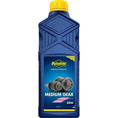 Huile de boîte Putoline Medium Gear 80W (1 Litre)