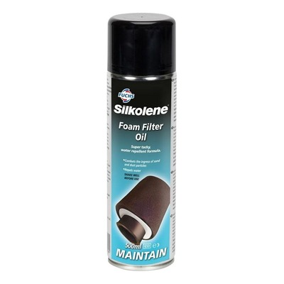 Huile de filtre à air Silkolene Foam Filter Oil Spray 500 ml