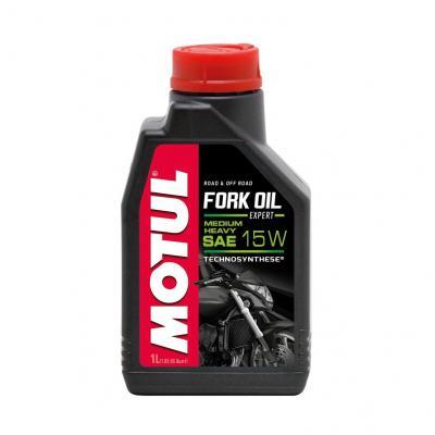 Huile de fourche Motul Fork Oil Expert Medium 15W 1L