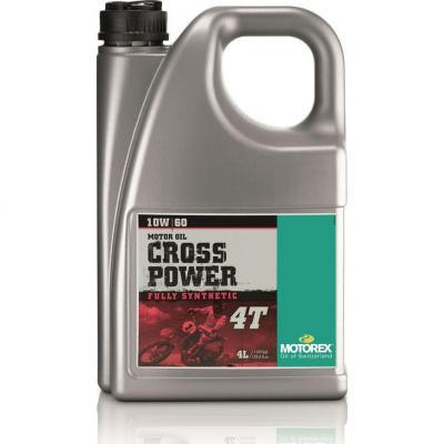 Huile moteur 4T Motorex Cross Power 10W60 4L