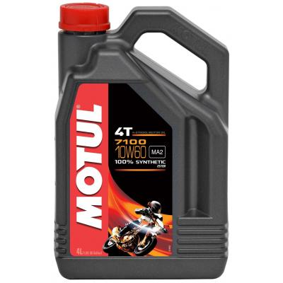 Huile moteur 4T Motul 7100 10W60 4L