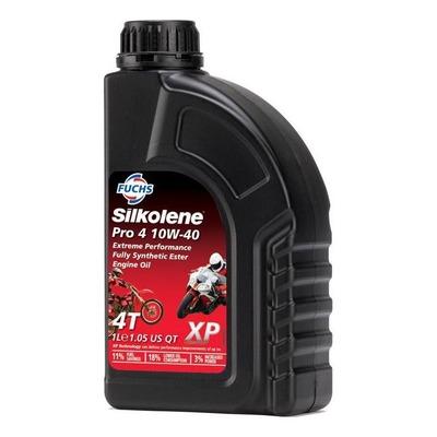 Huile moteur Silkolene Pro 4 10W40 4 temps 1L