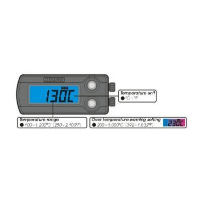 indicateur de température des gaz d'échappement Koso