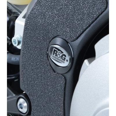 Insert de cadre R&G Racing droit / gauche noir Yamaha YZF-R1 15-18
