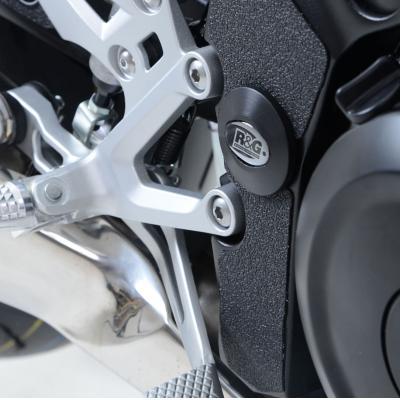 Insert de cadre R&G Racing droit noir Suzuki GSX-S 1000 15-18
