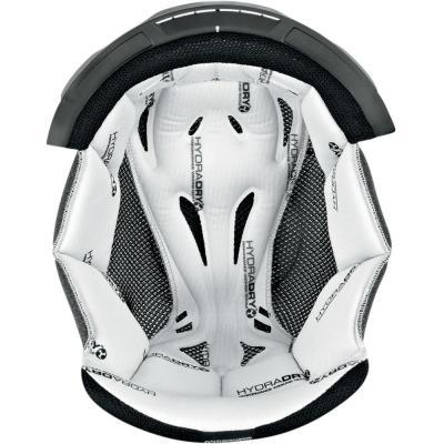 Intérieur de casque Icon Variant hydra-dry blanc