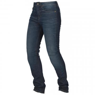 Jean moto femme Furygan Emma Stretch jean brut