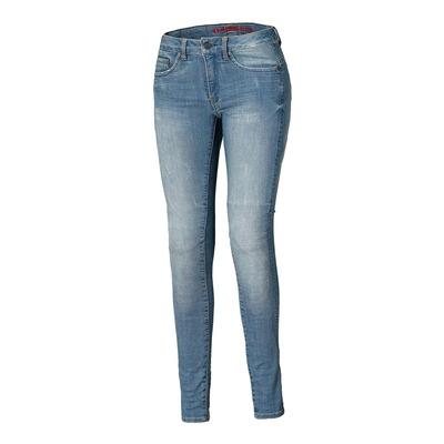 Jean moto femme Held Scorge bleu (longueur 34/long)