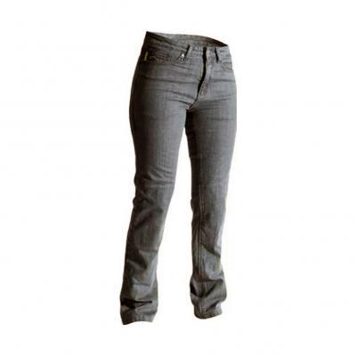 Jean moto femme RST Aramid straight leg gris