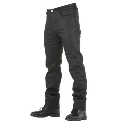 Jean Overlap MANX BLACK WAXED