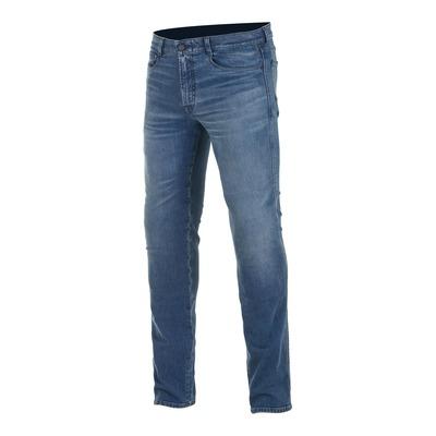 Jeans moto Alpinestars Copper v2 Plus aged worn bleu