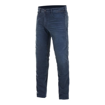 Jeans moto Alpinestars Radium Plus denim dark worn/bleu