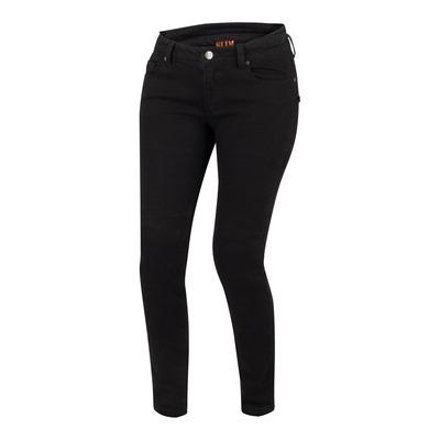 Jeans moto femme Bering Patricia noir