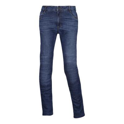 Jeans moto femme Esquad Dandi stone bleu