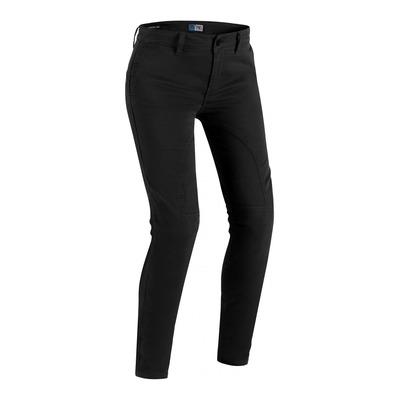 Jeans moto femme PMJ Santiago noir