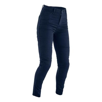 Jeans moto femme RST Jegging bleu
