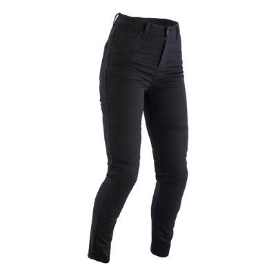 Jeans moto femme RST Jegging noir