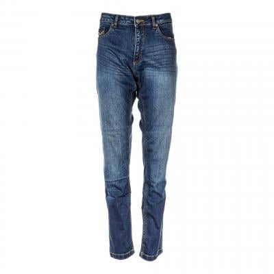 Jeans moto femme RST Ladies Aramid Skinny Fit bleu