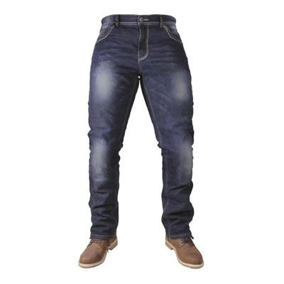 Jeans moto Harisson Clyde bleu