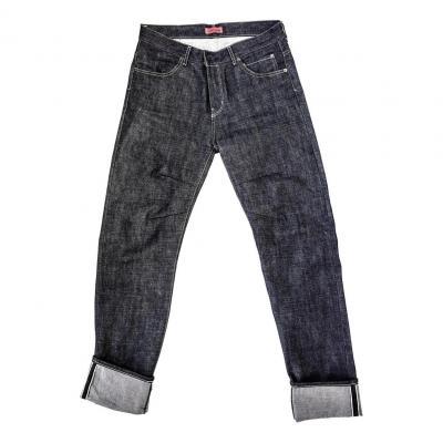 Jeans moto Helstons Arakawa Shinichiro Brut bleu