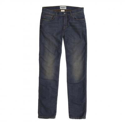 Jeans moto Helstons Corden Dirty bleu