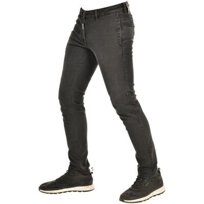 Jeans moto Overlap Rudy noir