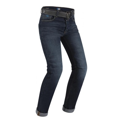 Jeans moto PMJ Café Racer bleu