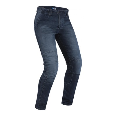 Jeans moto PMJ Dakar bleu