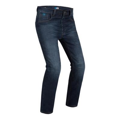 Jeans moto PMJ Jefferson bleu