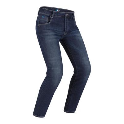 Jeans moto PMJ New Rider bleu