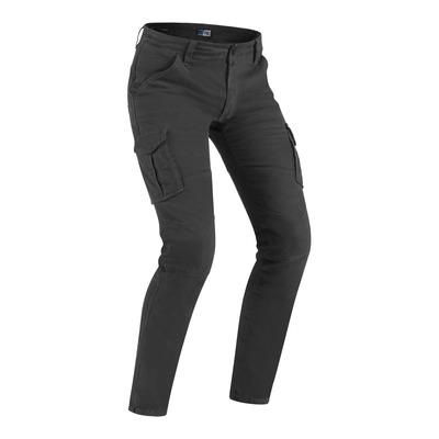 Jeans moto PMJ Santiago gris
