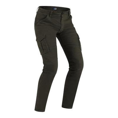 Jeans moto PMJ Santiago marron
