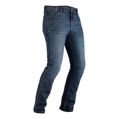 Jeans moto RST Single Layer bleu nuit
